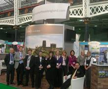 Stand Management: The NE England stand at Best of Britain and Ireland Show