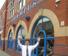 Olympus Fish and chip Restaurant, Bolton Town Centre - Owner Tasos - Superb and High Quality 'Food Destination' for Groups