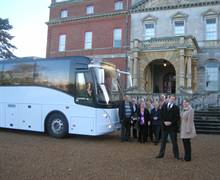 Spot Travel from Maidstone - with a SRT Buyer Fam group at Clandon House and Park - a National Trust site in Guildford