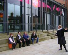 RSC in Stratford on Avon - Guided Tour by 'William' of Tudor World