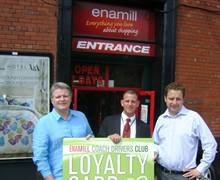 Ena Mill, Launch of Coach Driver Loyalty Club