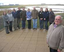Group Sales Training Day, RSPB Saltholme with David Rowland of Wold Travel